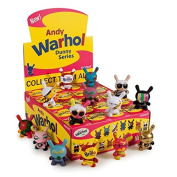 Kidrobot Andy Warhol Dunny Vinyl Mini-figure - Pink Campbell's Soup Can