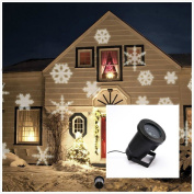 Summitlink White Snow Shower Christmas Light Show Led Projector