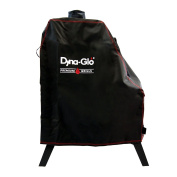 Dynaglo Dg1176csc Premium Vertical Offset Charcoal Smoker Cover, New
