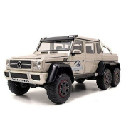 Jada Toys Jurassic World Mercedes G-waggon 6 X 6 Amg Die Cast Vehicle (1:24