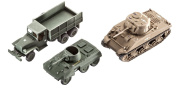 New Revell Germany 1/144 Us Army Vehichles Wwii 03350