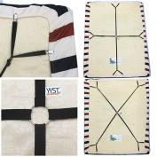 One Set Crisscross Adjustable Bed/fitted Sheet Straps Suspenders Gripper/holder