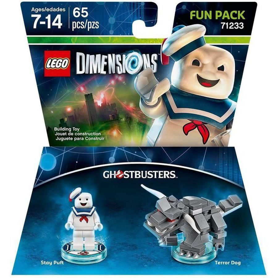LEGO Ghostbusters MiniFigure Trans-Medium Blue Ghostbusters Ghost 75827