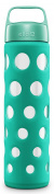Ello Pure Bpa-free Glass Water Bottle With Lid, Teal Fizz, 590ml