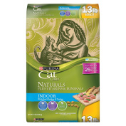 Purina Cat Chow Naturals Indoor Dry Cat Food 5.9kg. Bag