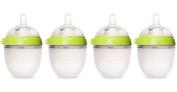 Comotomo Four Pack Bottle 150ml/5oz., Green, New,  .