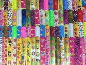 35 Kids Slap Bracelets. Teens Boys Girls Party Favours. Assorted Prints. Over ...