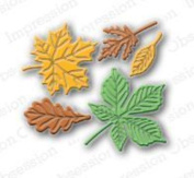 Impression Obsession Dies - Small Leaf Set Die095-d