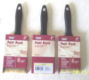 New (3) 7.6cm Krause & Becker Professional Paintbrush For Latex Acrylic Oil+