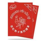 Ultra Pro Card Sleeves Standard Sriracha (50) Mint