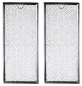 Microwave Grease & Air Filter Replacement For Ge Microwaves Wb06x10596 2 Pack