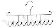 Organise It All 0315w-b Tie And Belt Rack