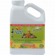 Citrus Magic Pet Litter Box Odour Eliminator, 1180ml, Fresh Citrus New