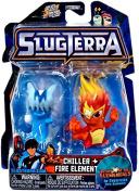 Slugterra, Chiller And Fire Elemental Mini Figures