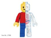 Brick Man Funny Anatomy By Jason Freeny By 4d Master