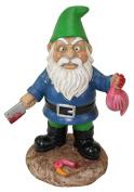Bigmouth Inc The Butcher Garden Gnome
