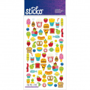Sticko Stickers-mini Food Characters