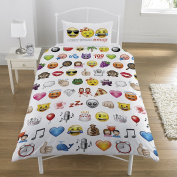 Emoji Duvet Cover Sets Single & Double Available - Funny Smiley Bedding