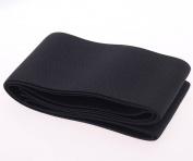 Cotowin 7.6cm Wide Black Knit Heavy Stretch High Elasticity Elastic Band (5