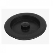 sourcingmap® Rubber Bathroom Kitchen Basin Water Sink Plug Disposal Stopper Black