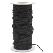 Darice 1921-3772 Elastic Cording, 2mm, Black