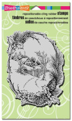 Stampendous Cling Stamp 10cm x 15cm -christma