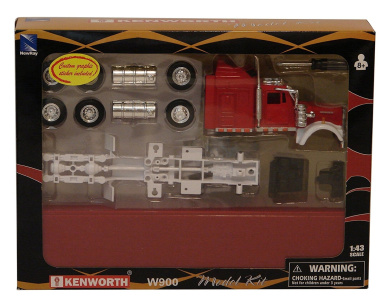 Ray Toys 1:43 Kenworth Truck Model Kit