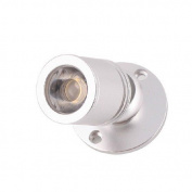 Brightsky 1w Warm White Led Mini Surface Mounted Light Jewellery Cabinet Lamp New