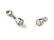 20 Cleverdelights Magnetic Jewellery Clasps - Capsule Style + Lobster Clasp -