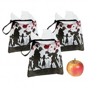 12 Halloween Party Favour Mini Goody Treat Zombie Walking Dead Totes Tote Bags Ne