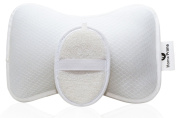 Home Prime Spa Bath Pillow Set With 2 Strong Suction ... New 2-day Shipping