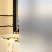 Window Films 35.4by78.7 No Glue Static Frosted Window Film Privacy Window Film Stained Glass Window Sticker For Office and Home Heat Control Anti-UV Film