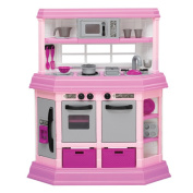American Plastic Toys 22 Piece Cook And Play Kitchen Set