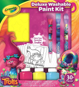 Crayola Trolls Deluxe Washable Paint Kit, New, 2 Day Shipping, 54-0156