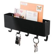 Mdesign Mail, Letter Holder, Key Rack Organiser For Entryway, Kitchen - Wall