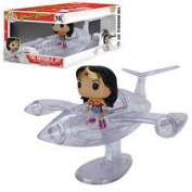 Dc Comics - Wonder Woman Invisible Jet Funko Pop! Rides Toy