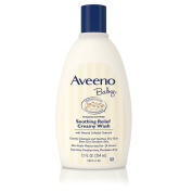 Aveeno Baby Soothing Relief Cream Wash, 350ml (pack Of 2), New,  .