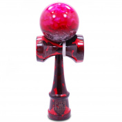 Full Red Sea Marble Kendama And Extra String