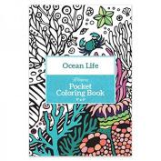 Pocket Colouring Book 10cm x 15cm -ocean Life