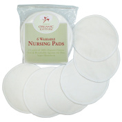 Tl Care Nursing Pads Made With Organic Cotton Natural Colour 6 Count
