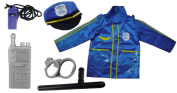 Police Officer Kids Costume Role Play Set