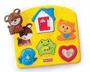 Fisher-price Brilliant Basics Activity Puzzle New