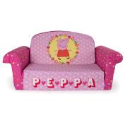 Peppa Pig 2-in-1 Flip Open Sofa - Pink