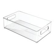 Interdesign Refrigerator And Freezer Storage Organiser Bins For Kitchen, 20cm X