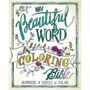 Niv, Beautiful Word Colouring Bible, Hardcover