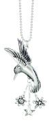 Hummingbird Car Charm Ornmament With Dangles New