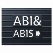 Quartet Characters For Magnetic Letter Boards Helvetica Font 2.5cm 128 C... New