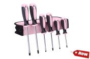 Pink Screwdriver Set Carry Case 6 Piece For Women Hand Supply Garage Gear