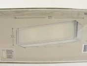 Hampton Bay Axton 2-light Brushed Nickel Vanity Fixture B675~4