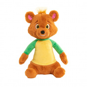Disney Junior Goldie And Bear Talking Bear Plush - Brown